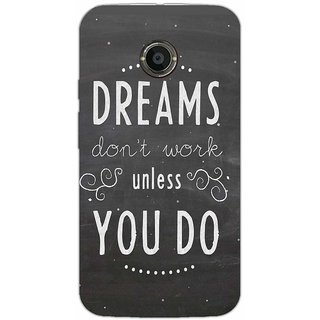Dreams Dont Work -Typography