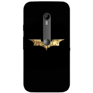 Batman Logo Gold Foil