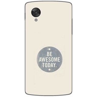 Be Awesome Today - Motivational Typography