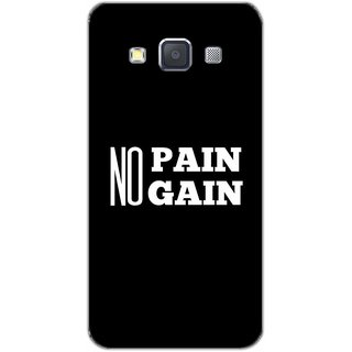 No Pain No Gain - Typography