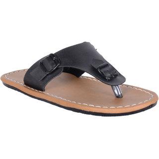 Austrich black slipper
