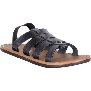 Austrich black sandals