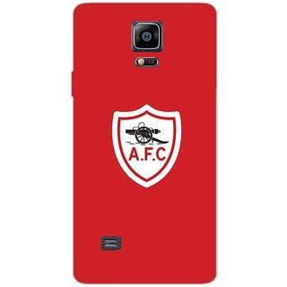 Arsenal Club Logo Minimalistic