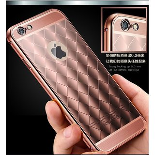 Luxury Pattrened look phone protective Hard shell back case cover for iPhone-6 / 6s