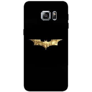 Batman Logo Gold Foil