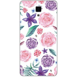 Floral Pattern Hand Print