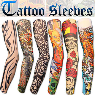 Tattoo Arm Sleeves for Sun Protection(1 pair)