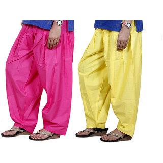 Indiweaves Women Cotton Semi-Patiala Salwar Set Of -2  7131571316-Iw