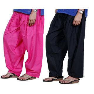 Indiweaves Women Cotton Semi-Patiala Salwar Set Of -2  7131571318-Iw