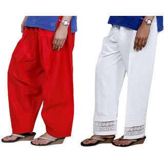 Indiweaves Women Cotton Semi-Patiala - Patiala Salwar Set Of -2  7131771324-Iw