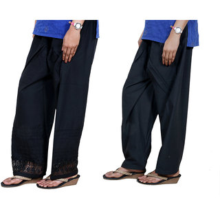 Indiweaves Women Cotton Semi-Patiala - Patiala Salwar Set Of -2  7132571330-Iw