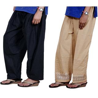 Indiweaves Women Cotton Semi-Patiala - Patiala Salwar Set Of -2  7131871327-Iw