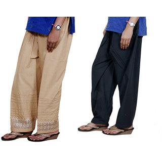 Indiweaves Women Cotton Semi-Patiala - Patiala Salwar Set Of -2  7132771330-Iw