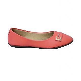 Sagar Footwear Pink Ballerinas