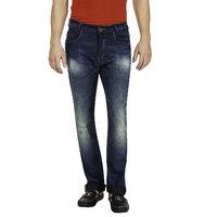 Mufti Mens Blue Narrow Fit Jeans