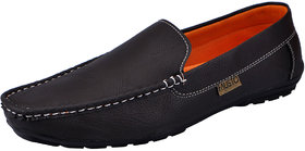 Fausto Brown Casual Loafers (FST K6049 BROWN) For Men