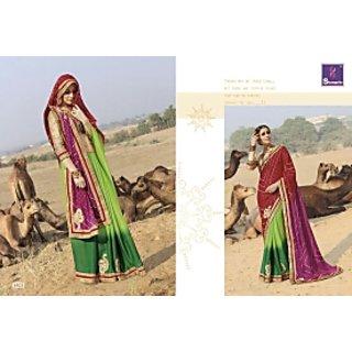 Exclusive bandhani.saris