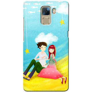 G.store Hard Back Case Cover For Huawei Honor 7 22954