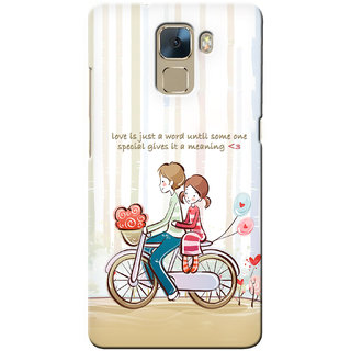 G.store Hard Back Case Cover For Huawei Honor 7 22955