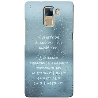 G.store Hard Back Case Cover For Huawei Honor 7 22996