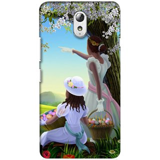 G.store Hard Back Case Cover For Lenovo Vibe P1m 23698
