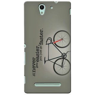 G.store Hard Back Case Cover For Sony Xperia C3 24111