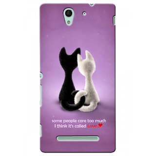 G.store Hard Back Case Cover For Sony Xperia C3 24143