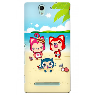 G.store Hard Back Case Cover For Sony Xperia C3 24145