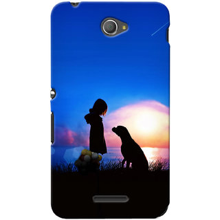 G.store Hard Back Case Cover For Sony Xperia E4 24366
