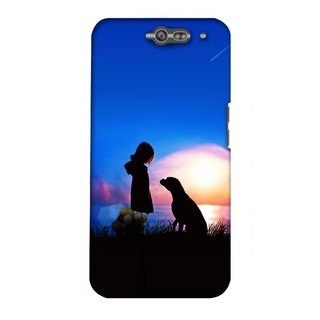 G.store Hard Back Case Cover For Infocus M812 23166