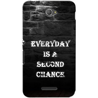 G.store Hard Back Case Cover For Sony Xperia E4 24387