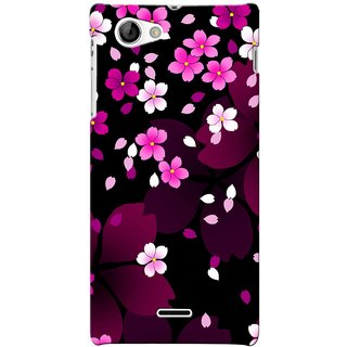 G.store Hard Back Case Cover For Sony Xperia J 24469