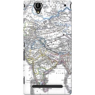 G.store Hard Back Case Cover For Sony Xperia T2 Ultra 25038