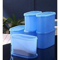 Aqua Blue Space Saver Container 1200ml Set Of 6