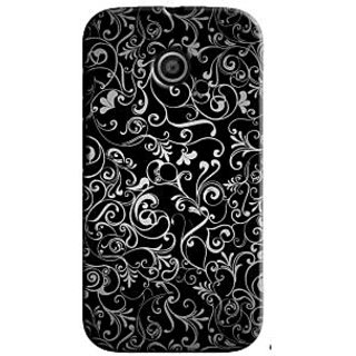 SaleDart Designer Mobile Back Cover for Motorola Moto E