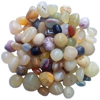 Pebbles Glossy Home Decorative Vase Fillers Stone , 1 KG