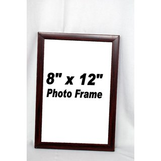 Wooden Photo Frame 8x12 brown