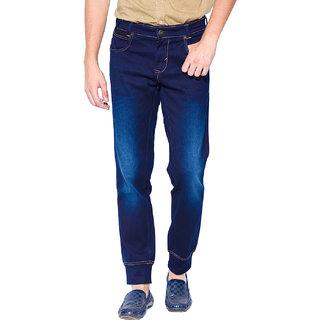 Mufti Mens Blue Slim Fit Jeans