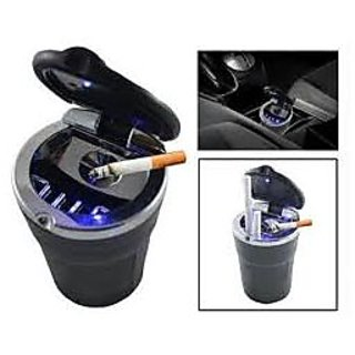 Blue LED Ash Tray @ rs.199 for Car / office / home+ self fix