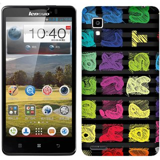 WOW Printed Back Cover Case for Lenovo P780
