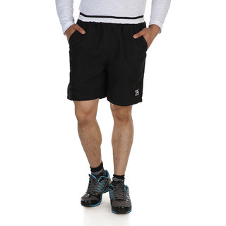 Dazzgear Black & White Color Football Shorts