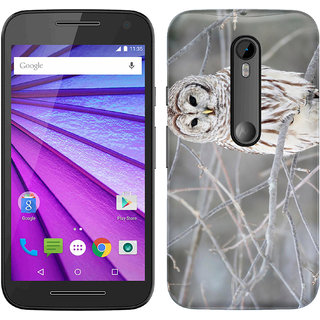 WOW Printed Back Cover Case for Motorola Moto G (3rd Gen)