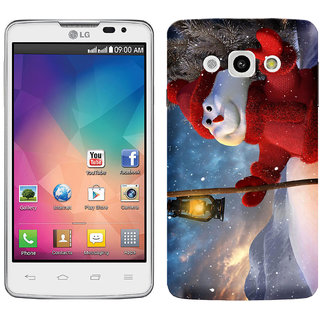 WOW Printed Back Cover Case for LG L60