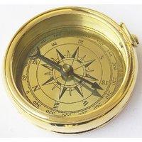 Kartique 2 Inch Brass Camping Compass