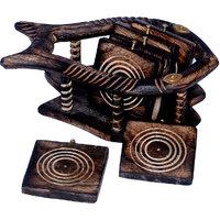 Craft Echo Wooden Coaster Set
