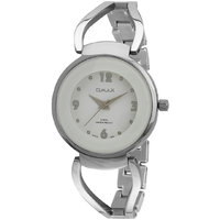 Omax Analog Silver Trendy Stainless Steel Watch