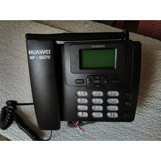 GSM FWP PHONE GF6672 GSM SIMCARD BASED LANDLINE TELEPHONE FOR VOICE  SMS