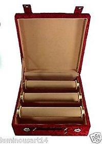 Atorakushon 3 roll rod wooden bangles box jewelery box jewellery box Chudi Box