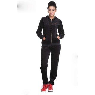 Nitrite Sportswear Black  Tracksuit For Women