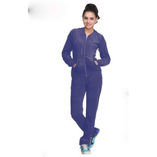 Nitrite Sportswear Navy  Tracksuit For Women